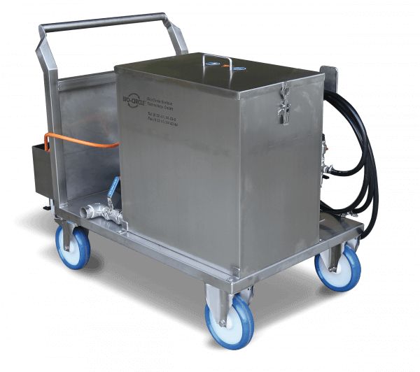 Bio-Circle RWR-80 KST Kühlkanal Reinigungsmaschine